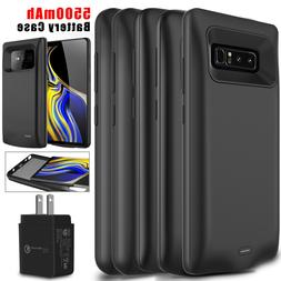 For Samsung Galaxy Note 10+/9/8/S9+ Battery Case External Ch