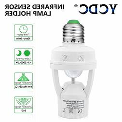 YCDC Smart AC110V/220V Infrared PIR Motion Sensor E26 E27 LE
