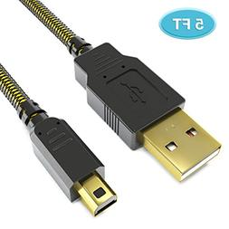6amLifestyle   3DS Charger Cable, 5FT Upgraded High Speed US
