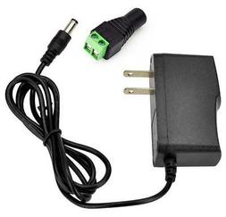 Sunvision 12V DC 1A AC Adapter Power Supply CCTV Cameras / H