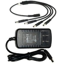 Sunvision 12V DC 2A AC Adapter Power Supply for CCTV Cameras