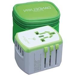 Dandelion Travel Adapter Outlet Accessory With 4 USB Ports U
