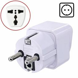 Travel Adapter Plug Converter for FRANCE GERMANY SPAIN TURKE