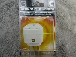Travel Foreign Plug Adapter for Italy, to Universal Foreign,