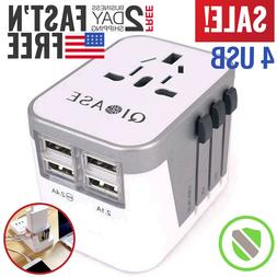 Travel Plug Adapter European Outlet International Universal