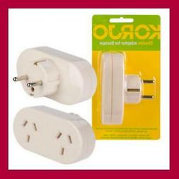 Korjo Travel Power Adapter Outlet AUS AU/NZ Socket to Plug A