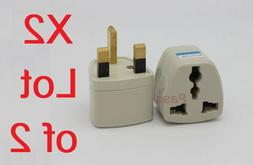 Travel Universal Plug AC Power Adapter Type G for UK GB Engl