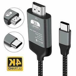 Type C To HDMI HDTV AV TV Cable Adapter For Samsung Galaxy S