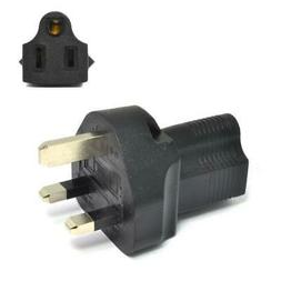 Ceptics UK, UAE, Hong Kong BS-1363 Travel Power Plug Adapter