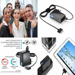 UL Listed Extra Long AC Adapter 10W Rapid Charger Samsung Ga