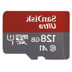 SanDisk Ultra 128GB microSDXC UHS-I card with Adapter - 100M