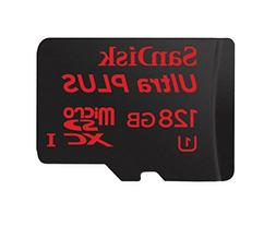 SanDisk Ultra Plus microSDXC UHS-I Card 128 GB