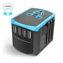 Universal Travel Adapter, All-in-one International Power Plu