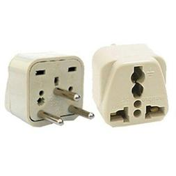 Travel Universal Plug Adapter Type H for Israel, Palestine -