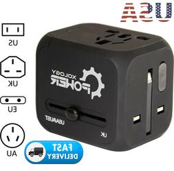 universal power adapter electric converter us au