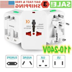 us to eu travel adapter charger converter