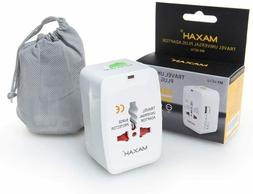 US To Ireland Electric USB Outlet Power Plug Charger Adapter