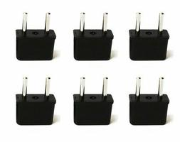 Ceptics USA to Europe Asia Plug Adapter - CE Certified - RoH