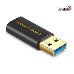 USB 3.0 A Male to USB-C Female Adapter, CableCreation Type 3