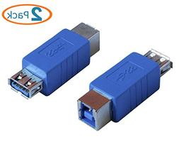 HTTX USB 3.0 Adapter - Type A Female to Type B Female Connec