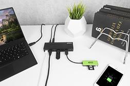 Plugable 7 Port USB 3.0 Hub with 36W Power Adapter