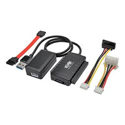 USB 3.0 SuperSpeed to Serial ATA  and IDE Adapter with built
