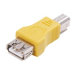 HDE ® USB Type A Female to USB Type B Male Adapter
