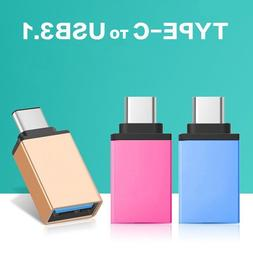 USB-C 3.1 Type C Male to USB 3.0 Adapter OTG Data Sync Charg