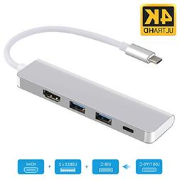 USB C to HDMI 4K Adapter for Samsung DeX Station, USB Type C