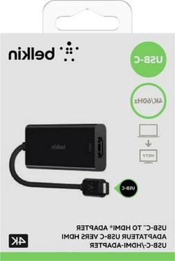 Belkin F2CU038btBLK USB-C  to HDMI Adapter
