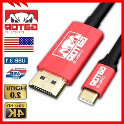 USB-C Type C to HDMI HDR 4K 2K 60Hz Cable UHD Adapter Conver
