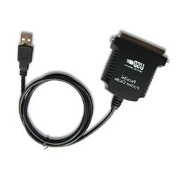 36 pin USB to Parallel IEEE 1284 Printer Adapter Cable