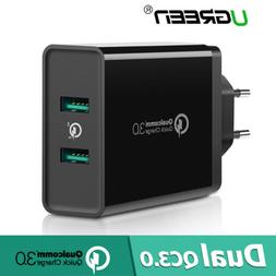 Ugreen USB Wall Charger Adapter Quick Charge 3.0 2.0 for iPh