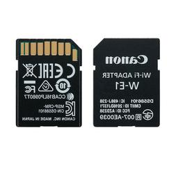 Canon WIFI adapter W-E1 for Phone for Tablet for computer 7D