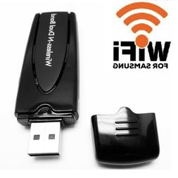 Wireless for Samsung Smart TV Wifi Adapter Dongle USB WIS12A