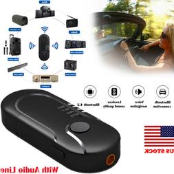 Wireless USB Bluetooth Stereo Audio Music Receiver Adapter F